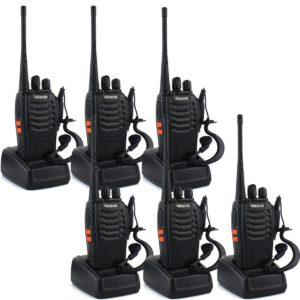Retevis H777 Two-Way Radios Set of Six