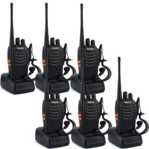 Retevis H777 Two-Way Radios Set of Six