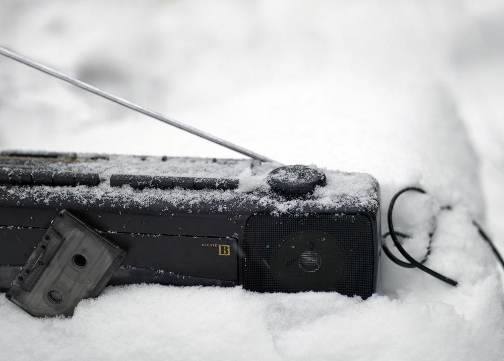 buried radio