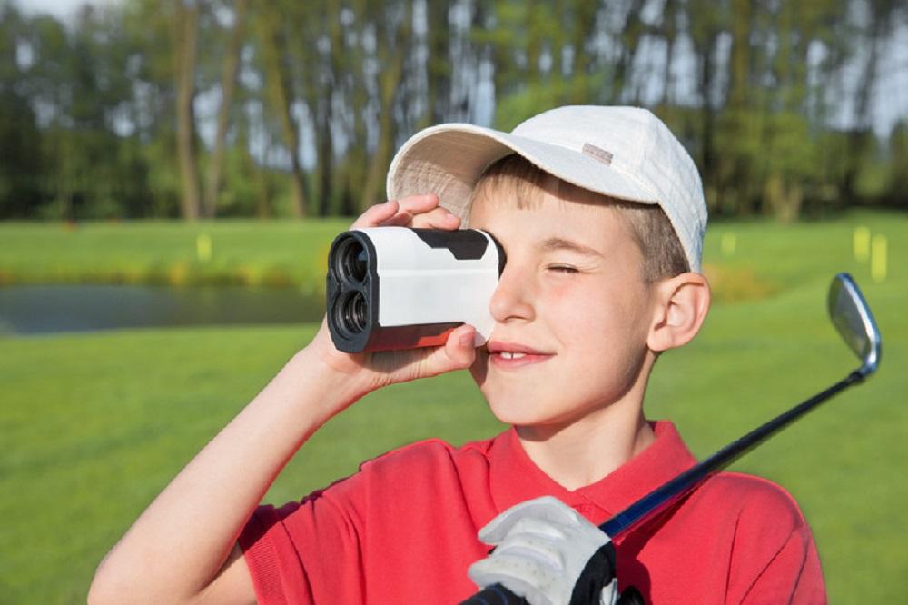 kid with a rangefinder