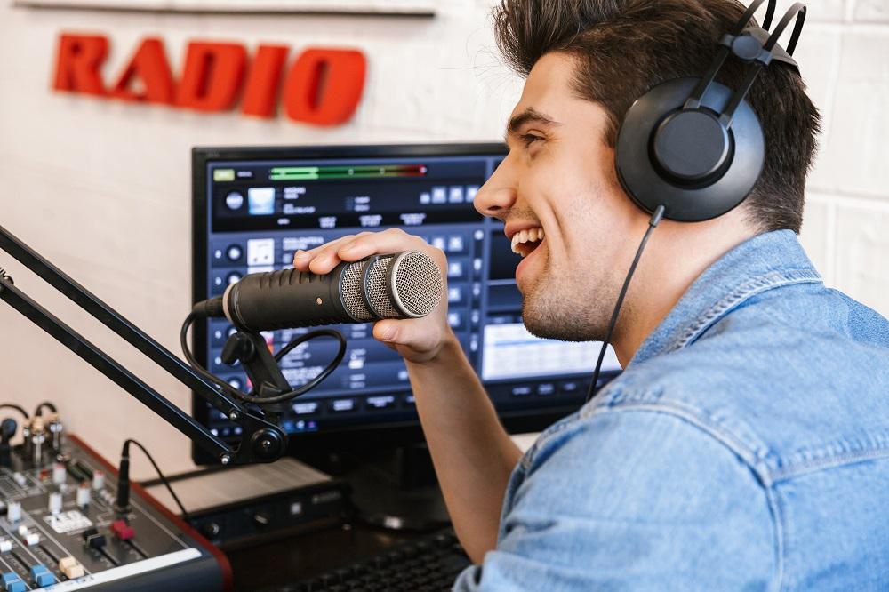 dj going on air